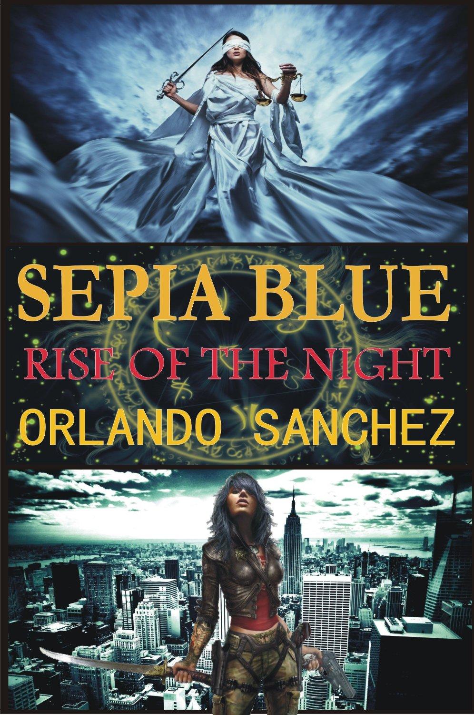 Sepia Blue Rise