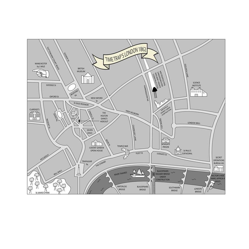 Time Trap London Map
