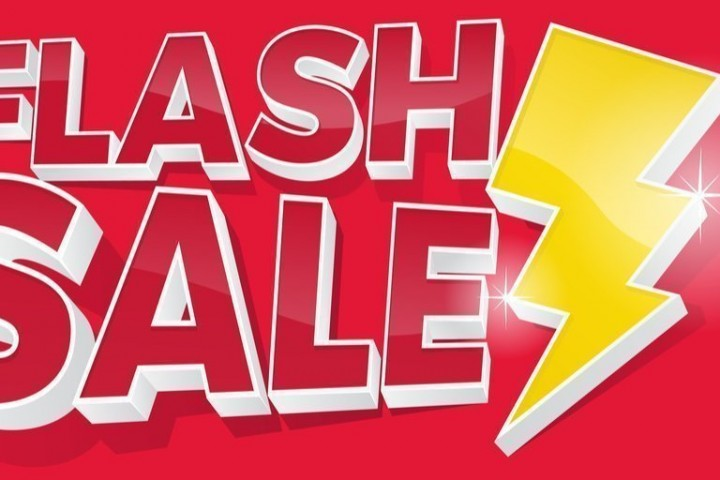 Half-price Flash Sale now to run through August