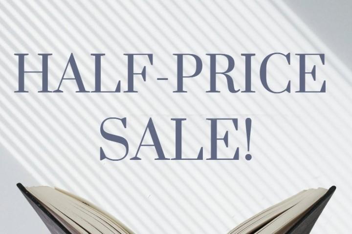 Half-Price Sale